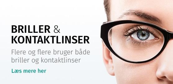 Briller og kontaktlinser